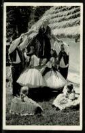 Ref 1261 - Ethnic Real Photo Postcard - Fete Dance - Balassagyarmat Hungary - Hungary