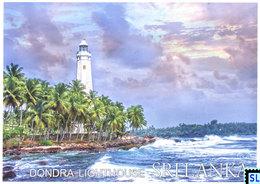 Sri Lanka Postcards, Dondra Lighthouse, Postcrossing - Sri Lanka (Ceylon)