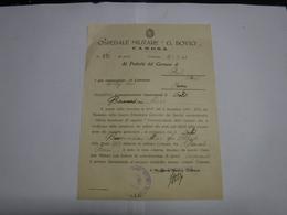 CANOSA    -- BARI  ----   OSPEDALE MILITARE  G. BOVIO - Italia