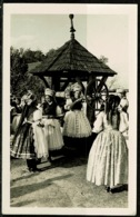 Ref 1261 - Ethnic Real Photo Postcard - Young Women At Well - Kazar Hungary - Hungary