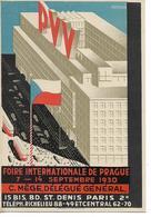 Publicité - Foire Internationale De Prague - 1930 - Paris - Fiches Illustrées