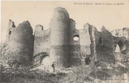 03 - NAVES - Environs De Gannat - Ruines Du Château De Naves (impeccable) - Altri Comuni