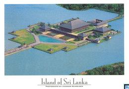 Sri Lanka Postcards, Sri Jayawardenepura, Capita City, Parliament, Postcrossing - Sri Lanka (Ceylon)