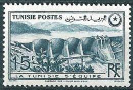 "Tunisie YT 330 "" Barrage "" 1949 Neuf** - Tunisia (1888-1955)"