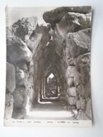D162624 Greece Nafplio Nauplion Tyrins Ancient Masonry Tunnel - Greece