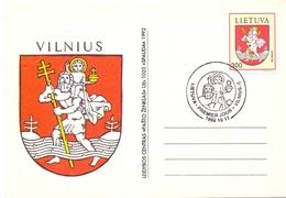 LITHUANIA VILNIUS  FDC POST CARD   (GEN190116) - Lithuania