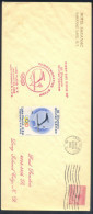 USA III Olympic Winter Games Lake Placid 1932; Olymic Stamp + Vignette + Special Hand Stamp First Day Of Issue RARE - Winter 1932: Lake Placid