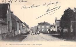 60 - LA NEUVILLE GARNIER : Rue Principale - CPA - Oise - Francia