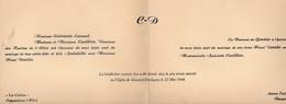 Ginestet (24 Dordogne)  : Mariage Cuvillier / Dozido  1944 (PPP16796) - Wedding