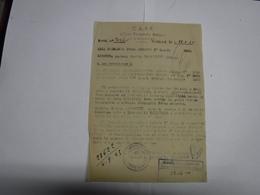 TERLIZZI -- BARI  ----  C.A.R.P. --- UFFICIO PERSONALE BALCANI - Italie