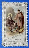 IMAGE PIEUSE  CANIVET ...SAINT ATHANASE PENDANT LA PERSÉCUTION - Devotion Images