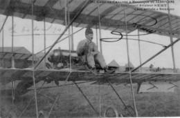 BESANCON - Du Camp De Chalons à Besançon En Aéroplane, Le Lieutenant REMY à Son Arrivée. B état. 2 Scan - Besancon
