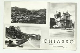 CHIASSO - TRE VEDUTE VIAGGIATA FG - TI Ticino