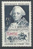 "Tunisie YT 328 "" Journée Du Timbre "" 1949 Neuf** - Tunisia (1888-1955)"