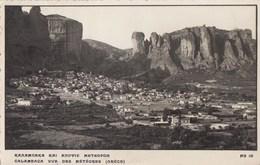 KALAMBACA: Vue Des Météores - Greece