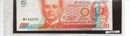 Banconota Filippine 20 Pesos UNC - Philippines