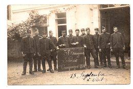 Niort. 31eme Dragons. Campagne 1914.Carte Photo-Ocean  Chavance. Sables D'Olonne. - Niort