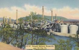 OIL CITY , Pennsylvania , 30-40s ; Pennzoil Refinery - United States