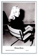 DIANA DORS - Film Star Pin Up PHOTO POSTCARD - 64-39 Swiftsure Postcard - Artistas