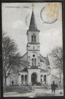 CPA 36 - Varennes, L'église - Un Photographe - Andere Gemeenten