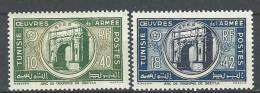 "Tunisie YT 326 & 327 "" Oeuvres De L'Armée "" 1948 Neuf* - Tunisia (1888-1955)"
