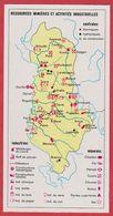 Ressources Minières Et Activités Industrielles. Albanie. Encyclopédie De 1970. - Vieux Papiers
