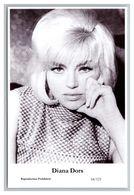 DIANA DORS - Film Star Pin Up PHOTO POSTCARD - 64-123 Swiftsure Postcard - Artistas