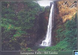 Sri Lanka Postcards, Laxapana Waterfall, Postcrossing - Sri Lanka (Ceylon)