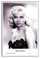 DIANA DORS - Film Star Pin Up PHOTO POSTCARD - 64-7 Swiftsure Postcard - Artistas