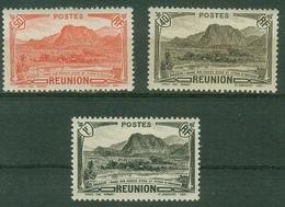FRANCE COLONIES - Réunion  Poste YT N° 136 164 169 Neufs ** - Réunion (1852-1975)