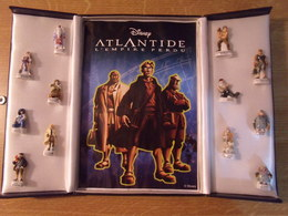 Série De Fèves Complète En Coffret : Atlantide , L'empire Perdu - Fèves