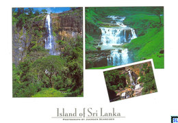 Sri Lanka Postcards, Diyaluma, St. Clair, Ravana, Waterfall, Postcrossing - Sri Lanka (Ceylon)