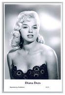 DIANA DORS - Film Star Pin Up PHOTO POSTCARD - 64-6 Swiftsure Postcard - Artistas