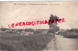 17 - SAINT GEORGES DE DIDONNE - VUE GENERALE TRAMWAY - EDITEUR BRAUN N° 3393  ROYAN - Saint-Georges-de-Didonne