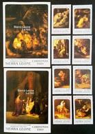 # Sierra Leone 1989**MI.1342-51 Painting-Rembrandt , MNH [22,53] - Rembrandt