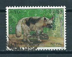 1995 Nepal Hyena,animals Used/gebruikt/oblitere - Nepal