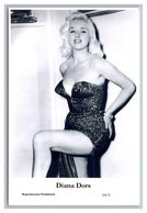 DIANA DORS - Film Star Pin Up PHOTO POSTCARD - 64-5 Swiftsure Postcard - Artistas
