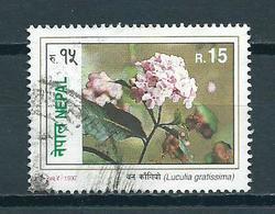 1997 Nepal Flowers,fleurs,blümen Used/gebruikt/oblitere - Nepal
