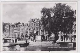 Amsterdam - (C) Nassaukade (plezier)schepen Oude (vracht)auto's    1380 - Amsterdam