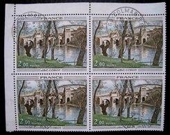 Timbre De France 1977 Oeuvres D'Art - Bloc De 4 Oblitéré - France