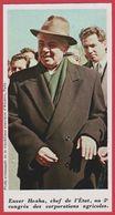 Enver Hoxha (1908-1985). Chef De L'état Albanais. Albanie. Encyclopédie De 1970. - Vieux Papiers