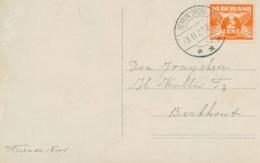 Nederland - 1927 - Ansicht Van LB BENNINGSBROEK Naar Berkhout - Poststempels/ Marcofilie