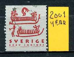 SVEZIA - SVERIGE - Year 2001 - Usato - Used - Utilisè - Gebraucht. - Usati