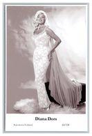 DIANA DORS - Film Star Pin Up PHOTO POSTCARD - 64-128 Swiftsure Postcard - Artistas