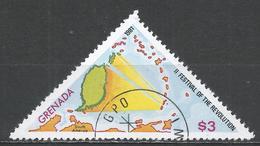Grenada 1981. Scott #1040 (U) Festival Of The Revolution, Map * - Grenade (1974-...)