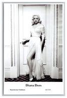 DIANA DORS - Film Star Pin Up PHOTO POSTCARD - 64-114 Swiftsure Postcard - Artistas