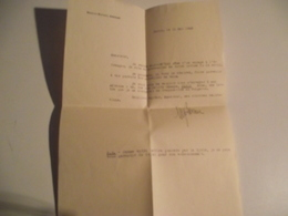 COURRIER, FM, Adressé Au Lieutenant Lévy, 1945 - Documents