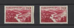 SARRE . YT   N° 11 Neuf **  1948 - Airmail