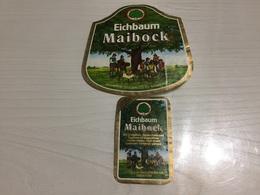 Ancienne Étiquette 1.1 BIÈRE ÉTRANGÈRE EICHBAUM MAIBOCK MANNHEIM ALLEMAND AU CHÊNE BOCK DE MAI - Bière