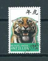 1997 Netherlands Antilles Tijger 75 Cent Used/gebruikt/oblitere - Curaçao, Nederlandse Antillen, Aruba